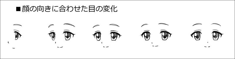 簡単 目の描き方 かわいい目を描くコツ アニメ マンガ風のデフォルメ